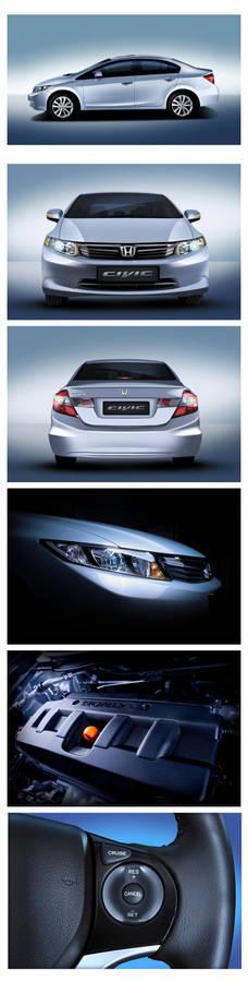 Honda Civic 2012 Photo Session
