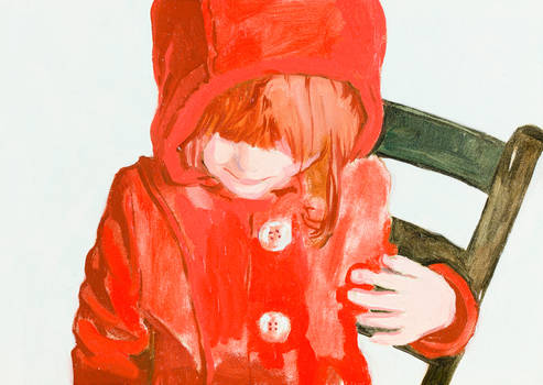 Girl in the Red Hoodie