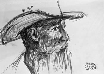 Old Cowboy Inktober 10