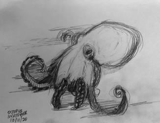 Octopus Inktober 11