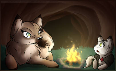 [Feral] Telling Ghost stories by Risketch