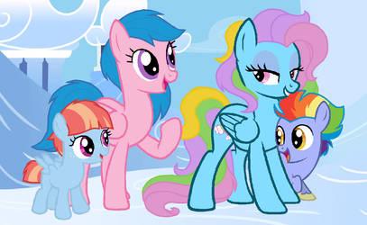 Headcanon: Rainbow Dashs Grandmothers