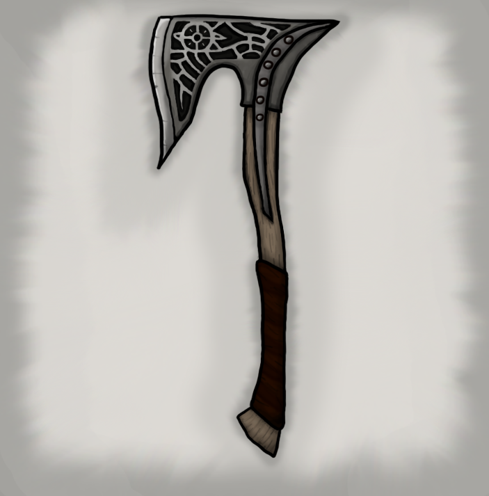 Building a Dawnguard War Axe - General Skyrim Discussion - The ...