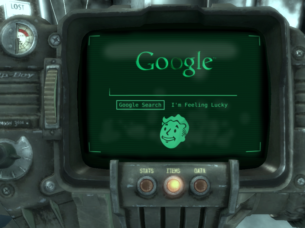 Google in Fallout 3