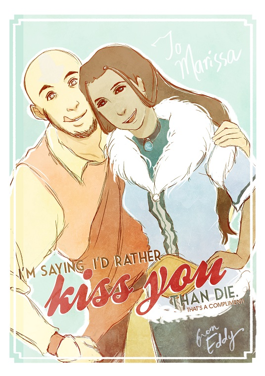 Kataang Valentine's Card by Destiny-Smasher