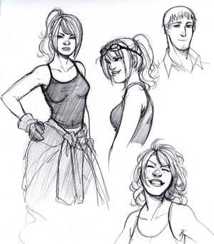 R+R - Roxette concept sketches