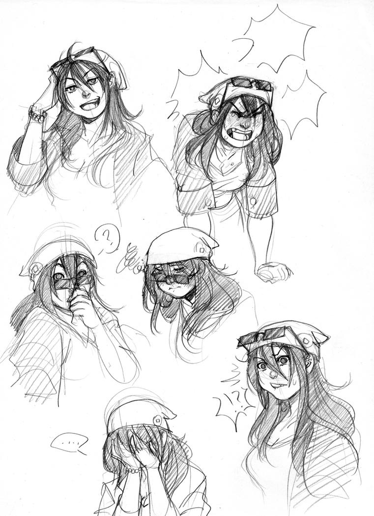 (Rokudai) - Jun Expressions (HinoKit) by Destiny-Smasher