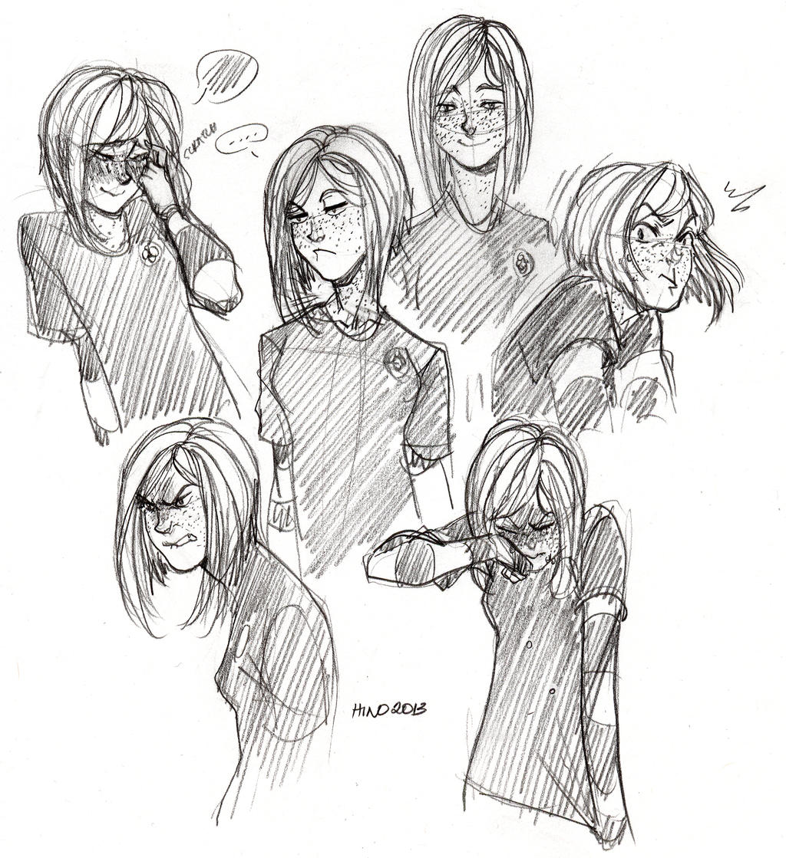 (Rokudai) - Jane Expressions (HinoKit) by Destiny-Smasher