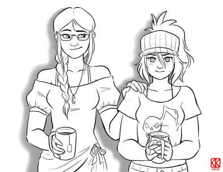 (Rokudai) - Kat and Jun