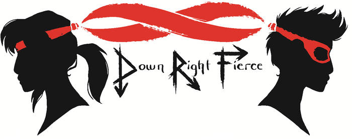 DownRight Fierce Logo #3