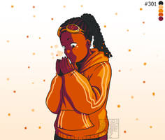 [DownRight Fierce] - Orange Snow
