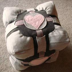 Portal Companion Cube Plush v3