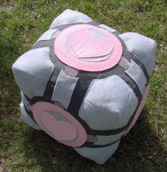 Portal 2 Companion Cube Plush
