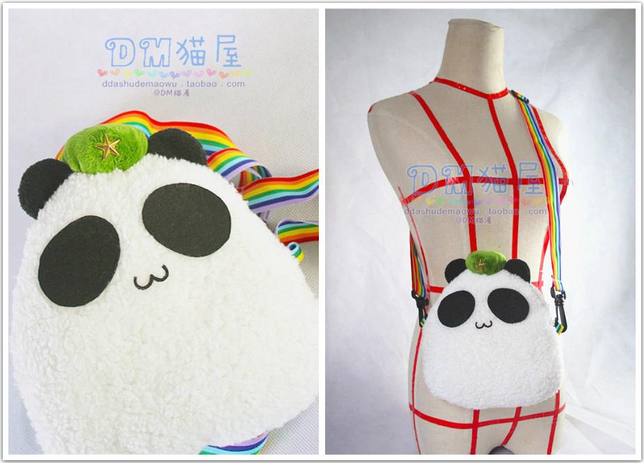 TOUHOU Project Hong Meirin panda by Ddashu