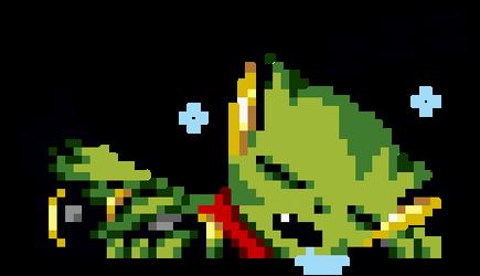 Lazy Kyat by Spookyrus
