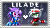 Lilade Stamp by mpuppy4