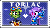 Torlac Stamp by Spookyrus