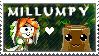 Milla x Mr. Stumpy Stamp by mpuppy4