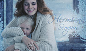 Hermione and her son Scorpius