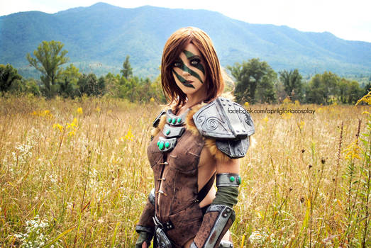 Aela the Huntress by April Gloria