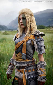 Mjoll the Lioness cosplay