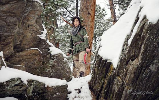 Lara Croft: Rise of the Tomb Raider cosplay
