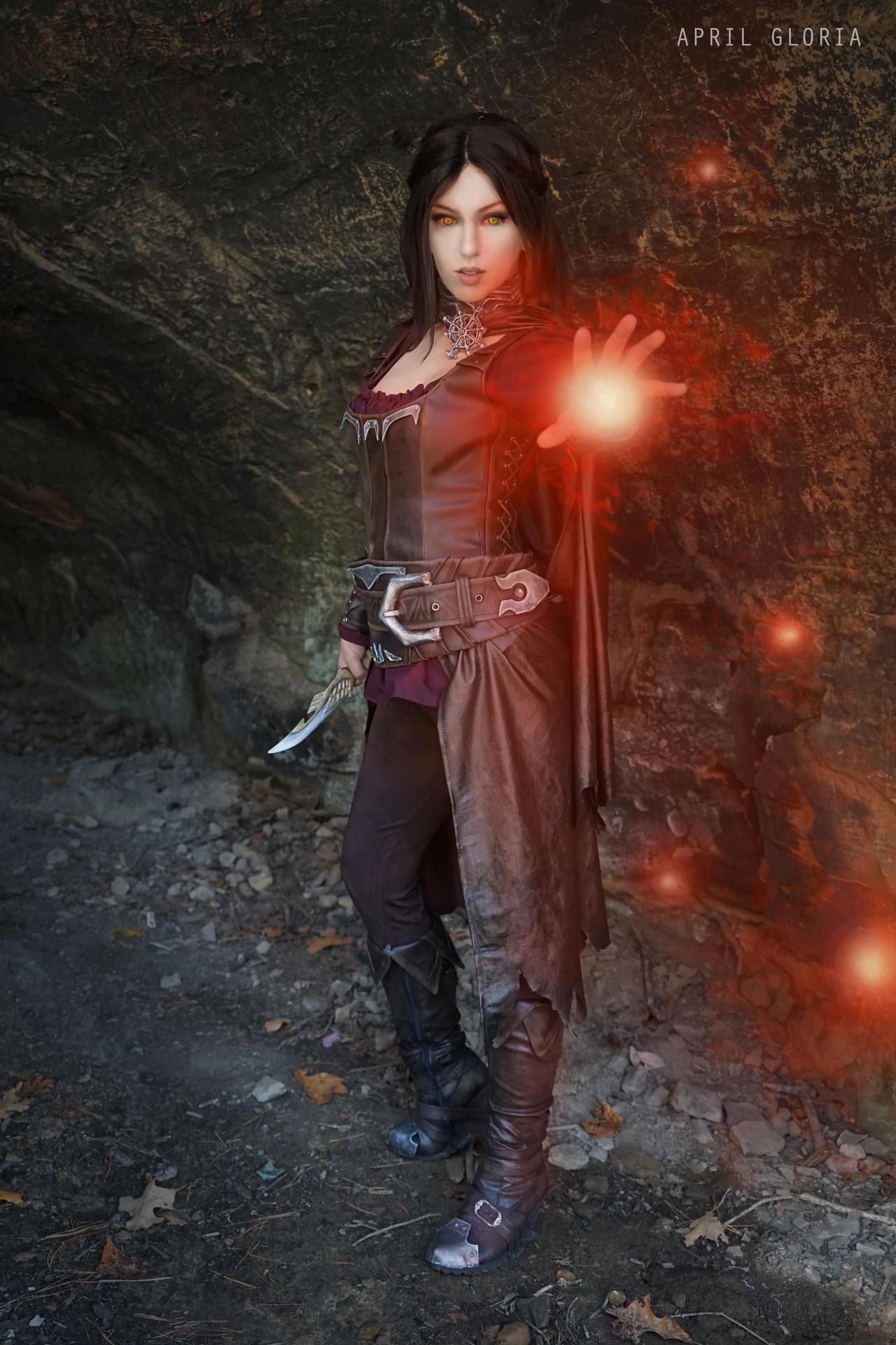 Serana Tesv Skyrim By Aprilgloriacosplay On Deviantart