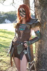 Aela the Huntress from Skyrim