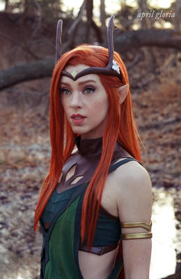 Keyleth cosplay from Critical Role by April Gloria