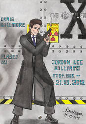 Jordan Lee Williams - An X-Files Tribute. by Kiborg-Graph