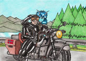Trollbabe - A Calming Ride. by Kiborg-Graph