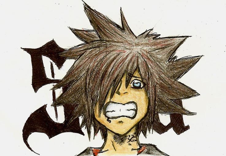 emo Sora by EgyptianTrinity