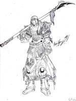 oc dynasty warrior 2 by TheWolfMaria