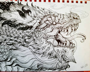 dragon thunder god