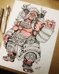 traditional oni