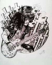 slash-guns and roses by TheWolfMaria