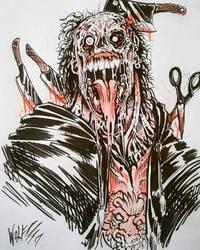 lil zombie sketch by TheWolfMaria