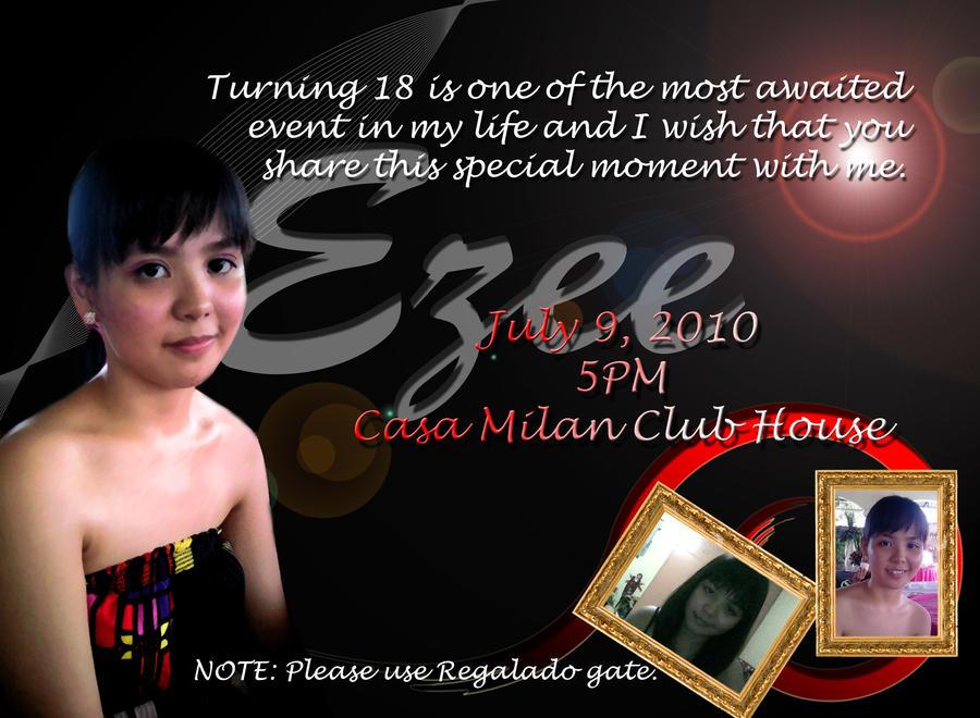 Debut Invitation