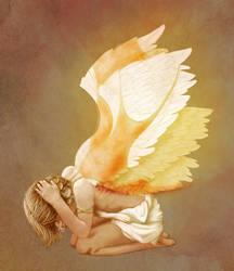Gabriel's Wings by veggiecake