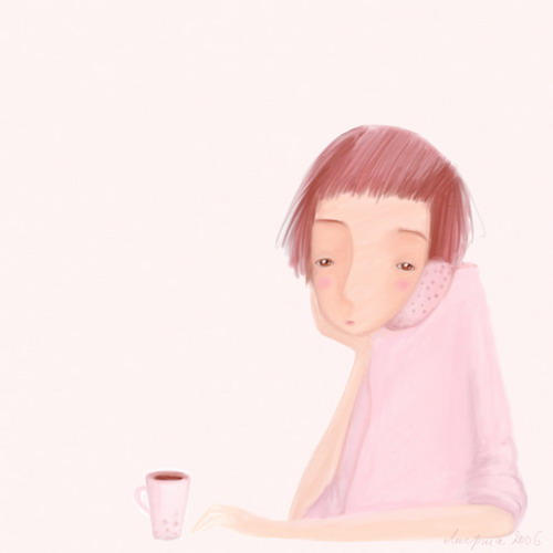 coffee in pink