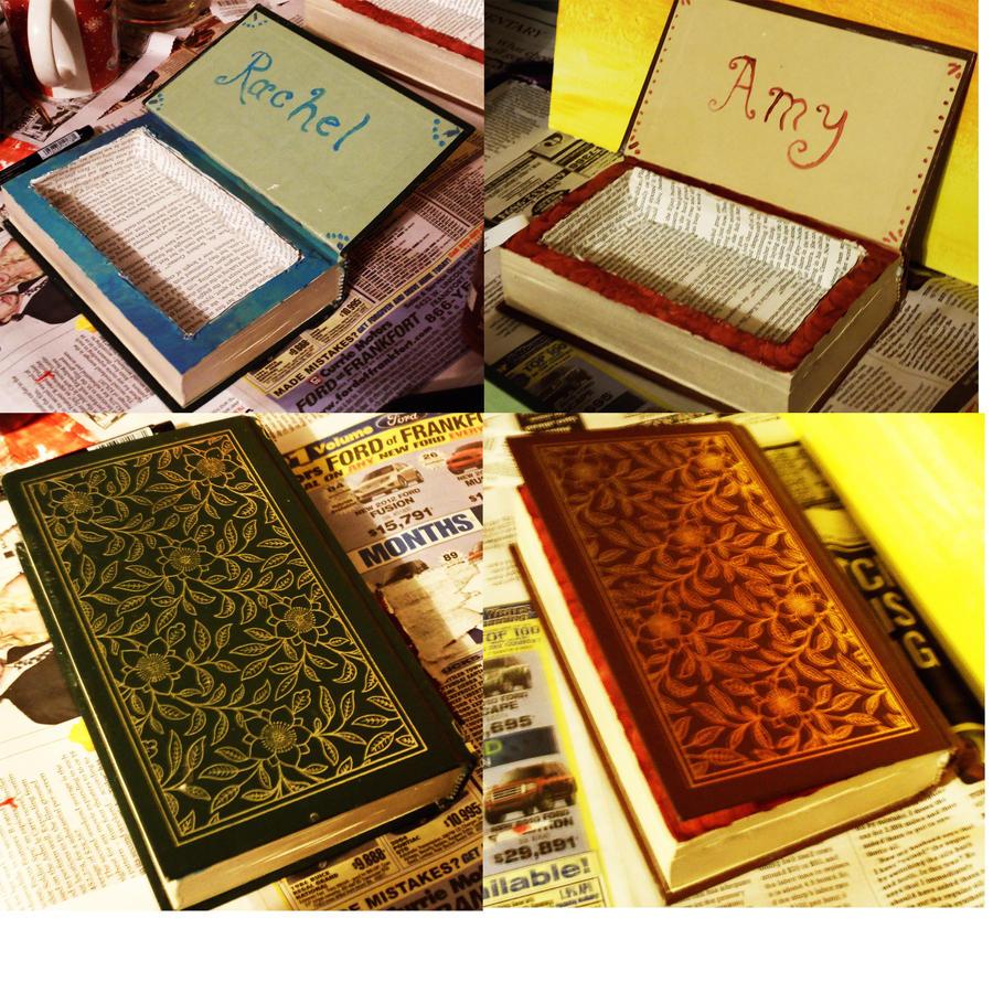 Book Jewelry Boxes by darkvampireninja on DeviantArt