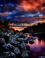 American River Sunset 3 by TchaikovskyCF