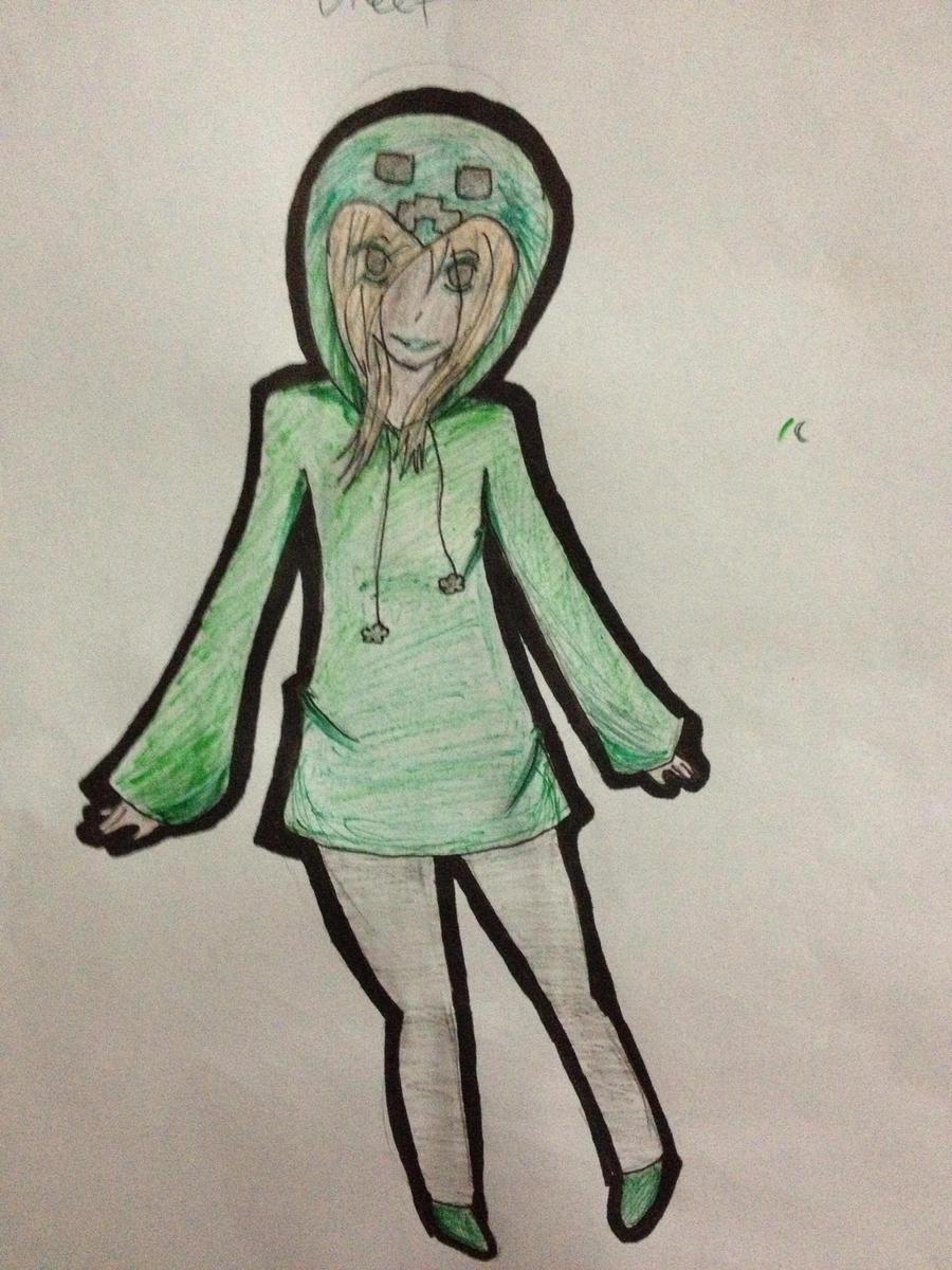 Creeper girl by nyancat707 on deviantart - Creeper anime girl ...