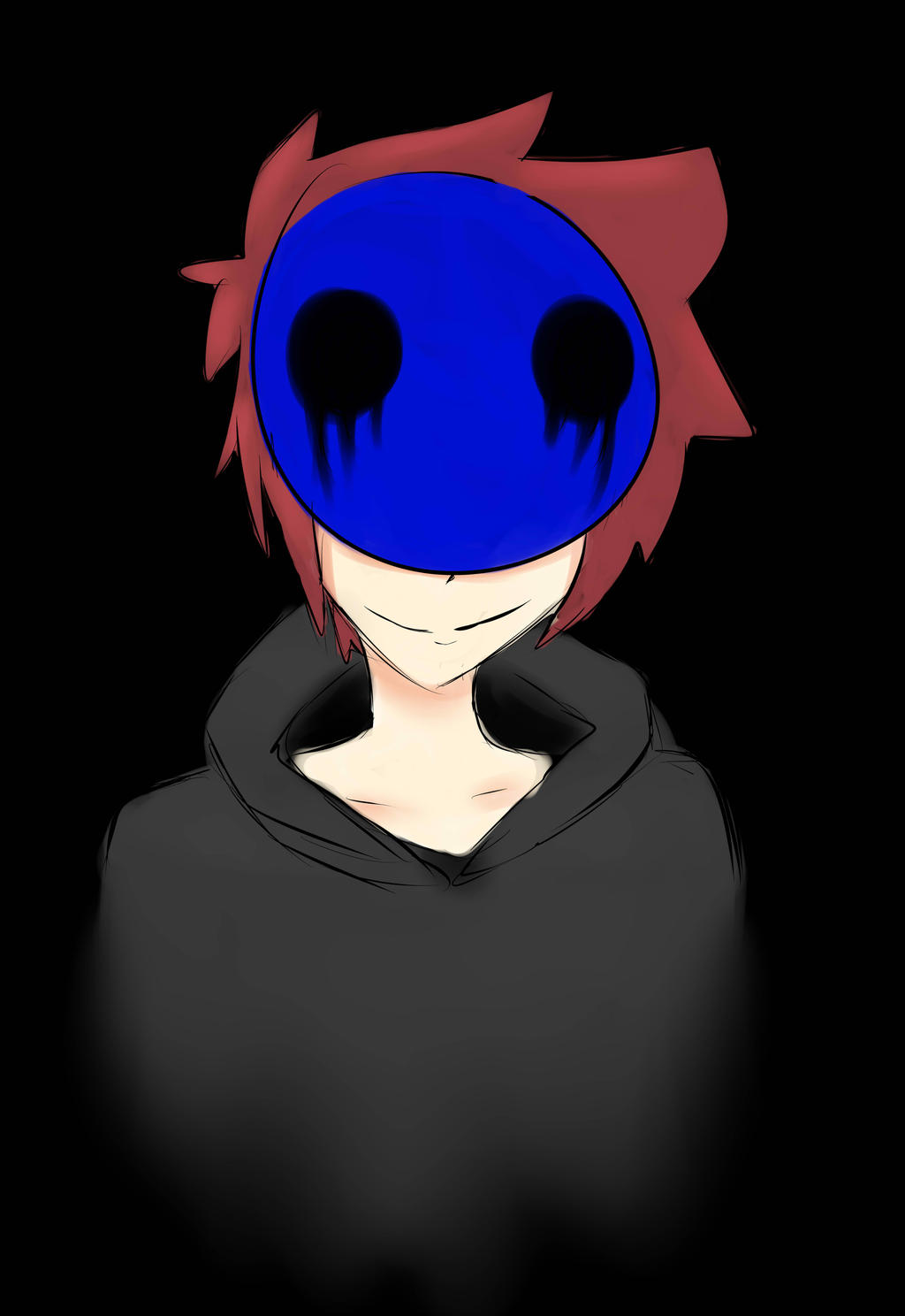 How to draw eyeless jack