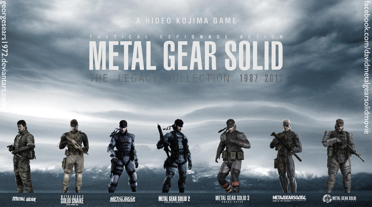 mgs legacy collection wallpaper with logos by