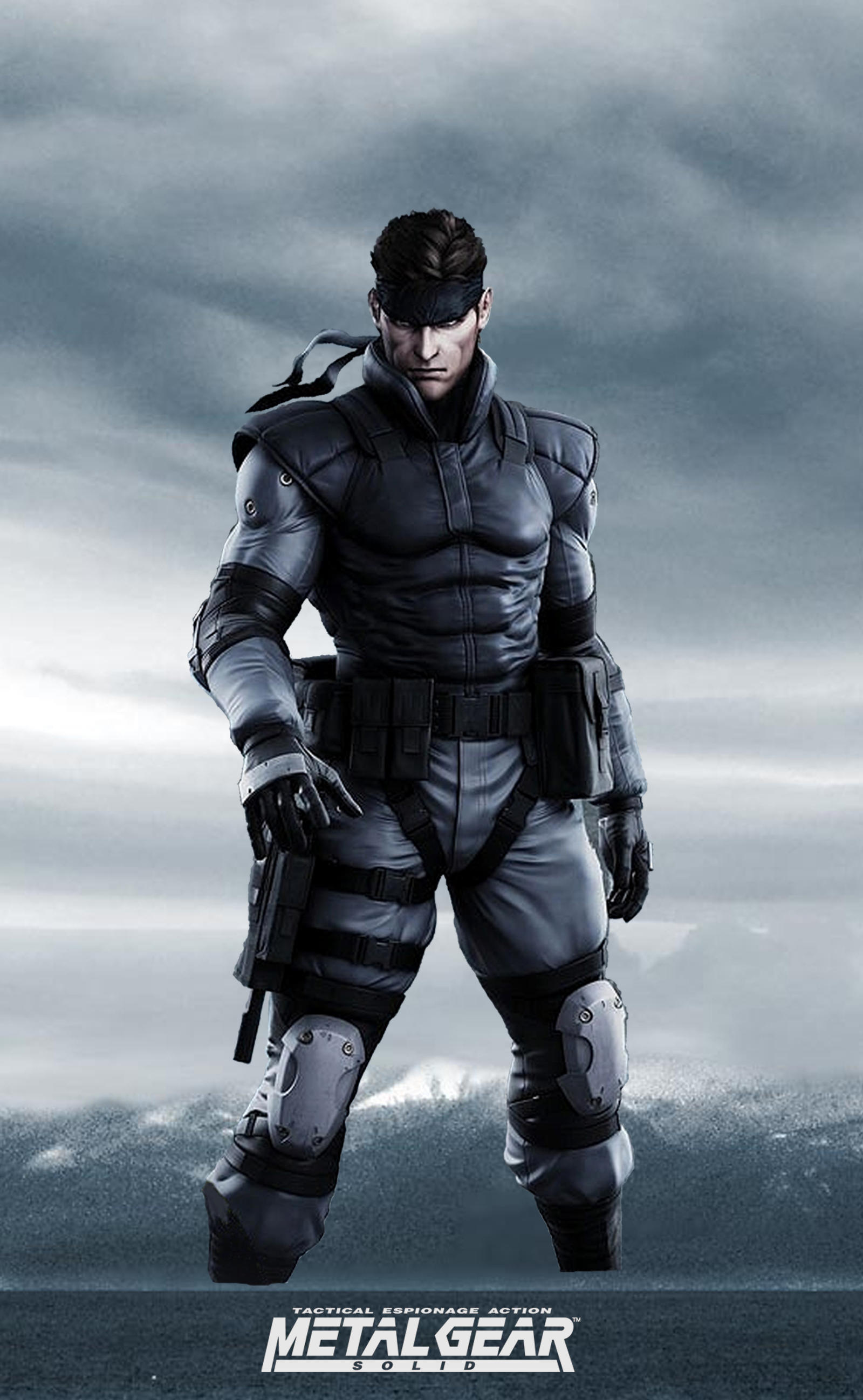 Angels and Summer: Play Arts Kai Solid Snake - Metal Gear
