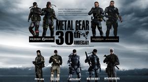Metal Gear Solid 30th Anniversary Wallpaper 5