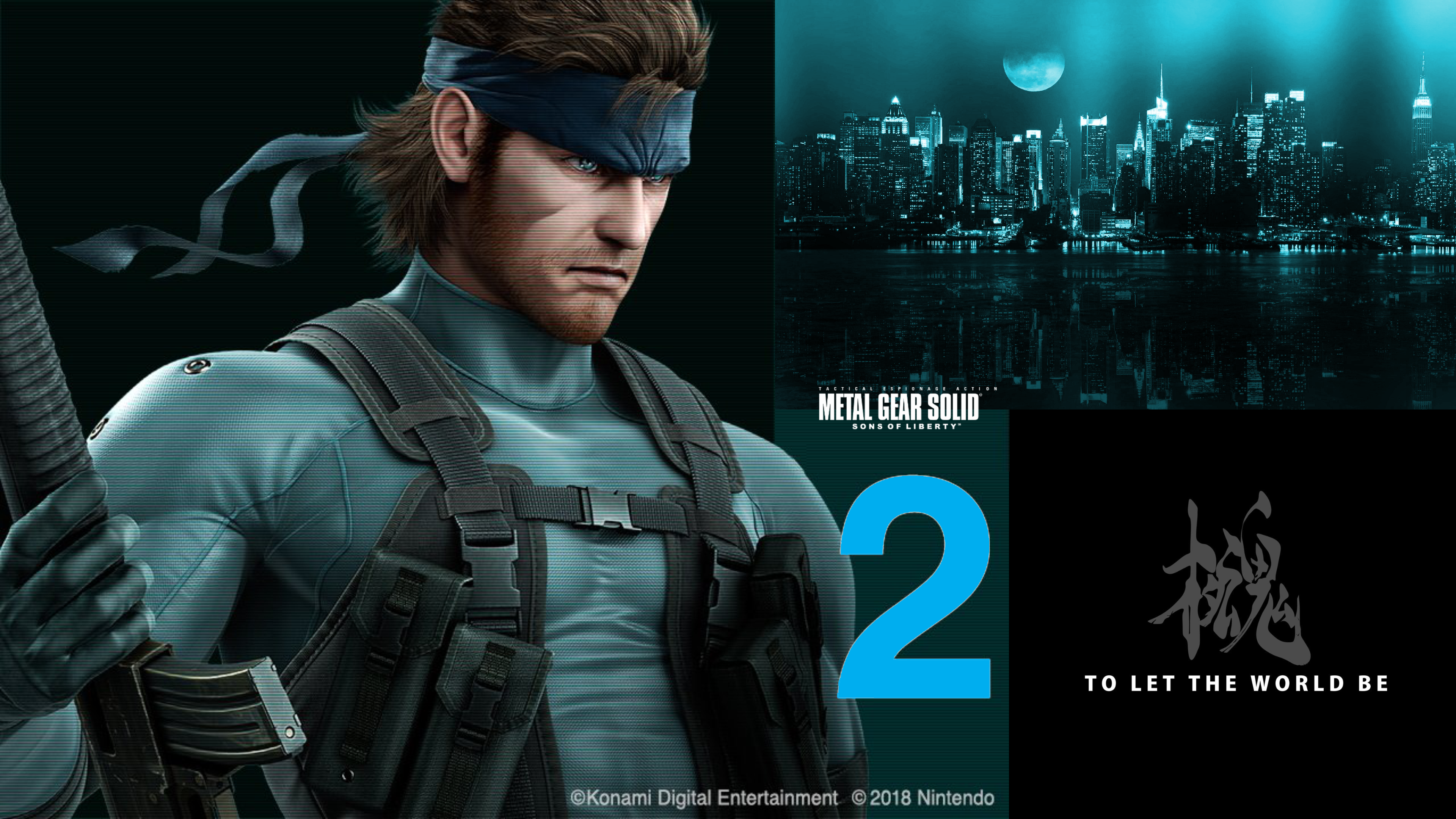 Metal Gear Solid 2 Solid Snake 4k Wallpaper By Georgesears1972 On