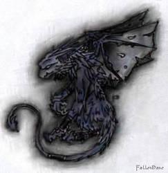 Gargoyle by FallenBane