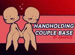 Handholding Couple Base  (P2U) by helloabakkus